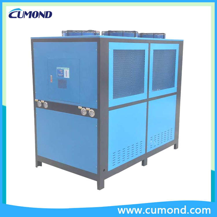 50HP industrial air-cooled chillers CUM-AC air cooled chiller for plastic industry