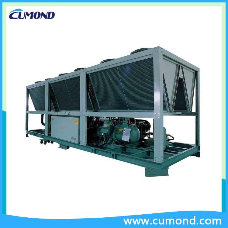 Low temperature double screw air chiller CUM-ASCDL low temperature screw water chiller